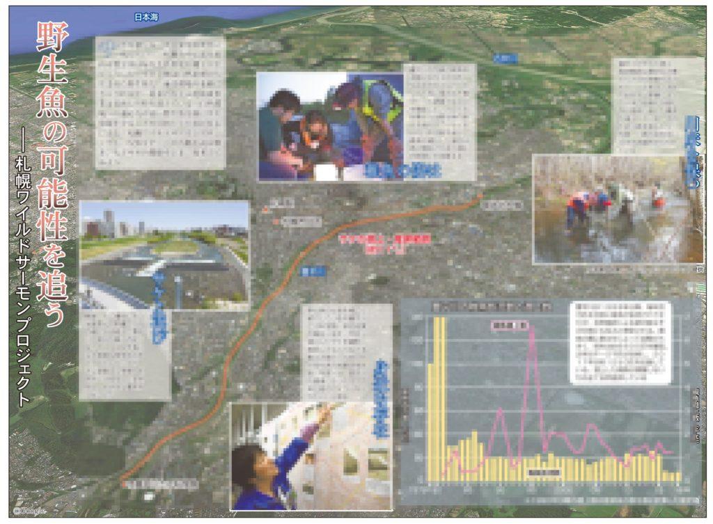 野生魚の可能性を追うー札幌ワイルドサーモンプロジェクトのイメージ