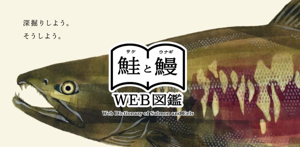 鮭と鰻のWeb図鑑